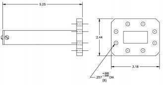 waveguide termination drawing